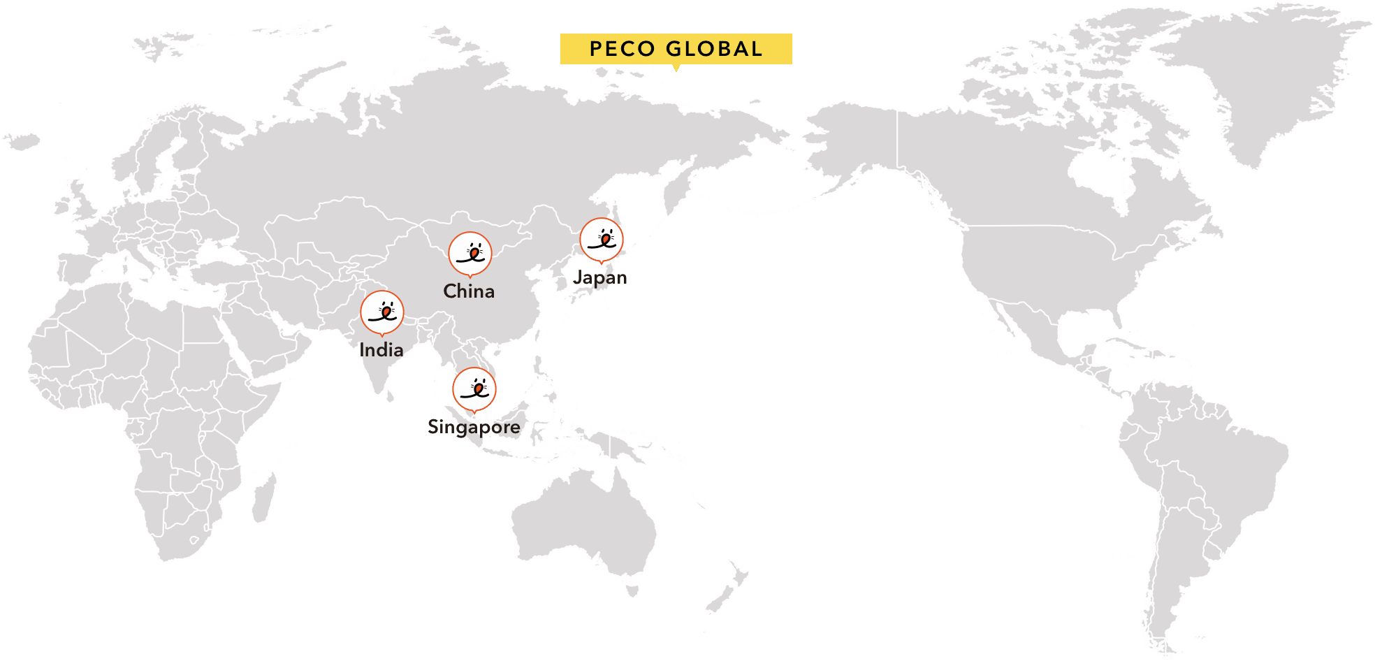 PECO GLOBAL MAP